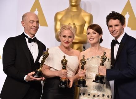 """Оскар-2015: """"Бьордмен"""", """"Готель """"Гранд Будапешт"""", """"Інтерстеллар""""..."""