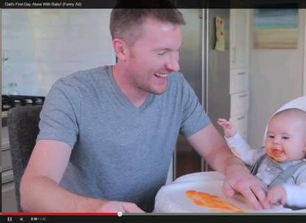 Відео дня: коли мами немає вдома