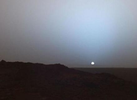 Як виглядає захід сонця на Марсі (ВІДЕО)