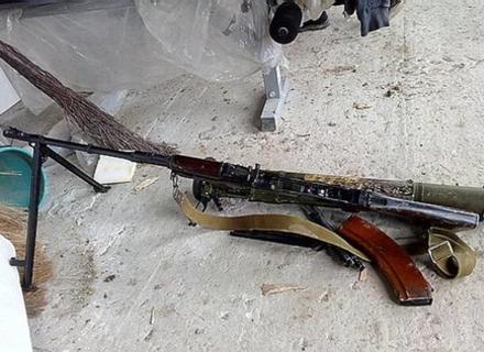 Закарпатська міліція знову виявила арсенал зброї