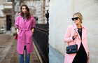 4 причини носити рожеве пальто