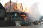Пожежі на Закарпатті: На Рахівщині згорів магазин, а на Мукачівщині у будинку згоріла людина