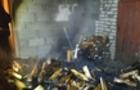 Вночі на Виноградівщині вогнеборці рятували від вогню теплиці