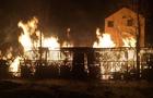 На Мукачівщині згорів деревообробний цех (ФОТО)