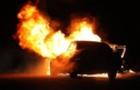 Вночі у Мукачеві згорів автомобіль ФІАТ