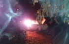 Вночі в Ужгороді згорів автомобіль Жигулі (ВІДЕО)