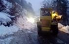 Автомобільний рух після сходження лавини на Рахівщині відновлено