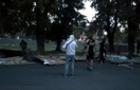 Націоналісти знесли паркан на місці реконструкції набережної Незалежності