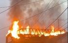 У Сваляві під ранок згорів комерційний центр (ВІДЕО)
