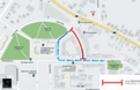 Завтра в Ужгороді перекриють вулицю Гойди