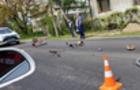 На Хустщині мотоцикліст збив велосипедиста