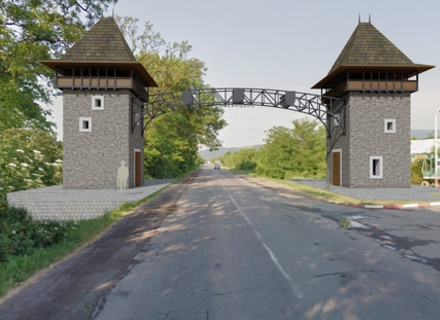 У Невицькому, на одній з вулиць, побудують арку у вигляді башт Невицького замку