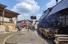 На Тячівщині пожежа сталася на деревообробному підприємстві