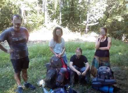 Четверо чеських туристів випадково зайшли з боку Словаччини в Україну