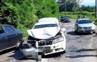 На Перечинщині зіткнулися три автомобілі