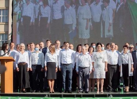 Партія «Слуга Народу» в Закарпатті офіційно розпочала свою виборчу кампанію