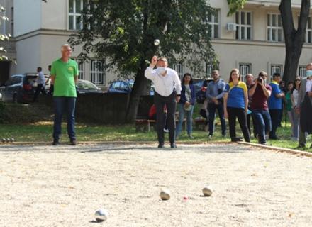 В Ужгороді відзначили спортсменів та відкрили нову локацію для гри в петанк
