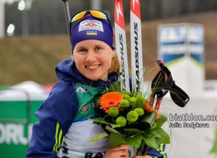 Закарпатська біатлоністка стала чемпіонкою України в супер-спринті