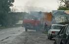 У Берегові загорівся сміттєвоз