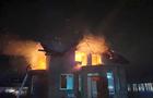 Опівночі біля Ужгорода згорів двоповерховий житловий будинок