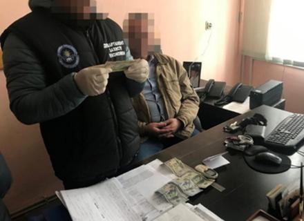 Посадовця Закарпатської ОДА затримано на хабарі