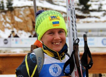 Закарпатська біатлоністка стала срібною призеркою Чемпіонату Європи