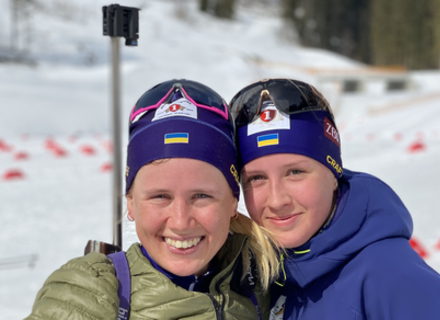 Закарпатська біатлоністка Меркушина стала чемпіонкою України в мас-старті