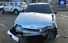 Потрійна ДТП у Мукачеві: водій-винуватець втік, а потім сам повернувся