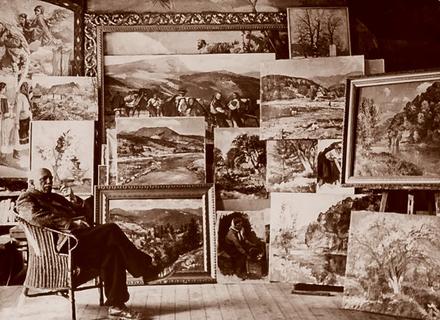 Чим любили займатися відомі закарпатські художники, окрім малювання
