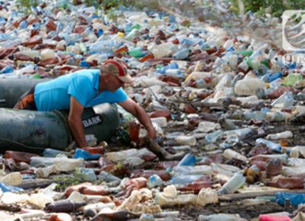 За зиму на берегах русел річок Тиса, Боржава, Латориця утворилися 42 стихійних сміттєзвалища