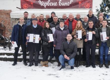 У Мукачеві нагородили переможців конкурсу «Червене вино 2021» (Відео)