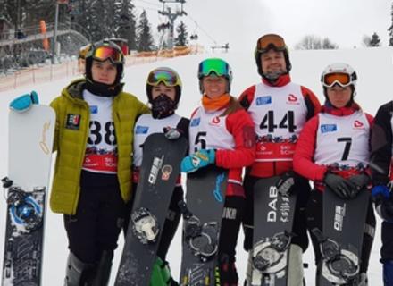 Закарпатські сноубордисти вибороли золоті та срібні нагороди на Чемпіонаті України