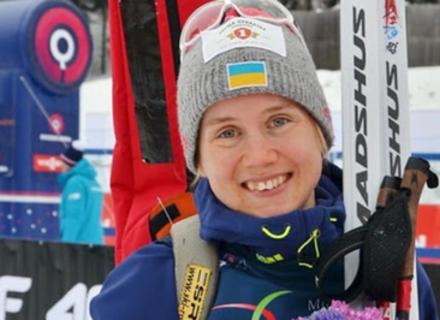 Представниця Закарпатської федерації біатлону потрапила до складу збірної України на Чемпіонаті світу