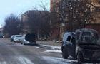 В Ужгороді спалили два автомобіля