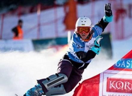 Аннамарі Данча та Йосиф Пеняк здобули медалі на чемпіонаті України зі сноубордингу