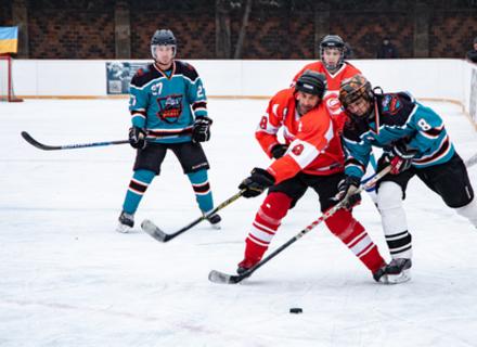 Чемпіоном Закарпаття з хокею став ХК Ужгородські вовки