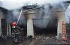 Аж 14 рятувальників гасили пожежу в центрі Ужгорода (ВІДЕО)
