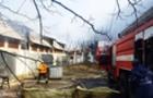 На Закарпатті згорів хлів у монастирі (ФОТО)