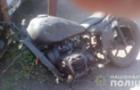 На Перечинщині чоловік на архівному мотоциклі врізався у Жигулі