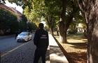 В Ужгороді біля будівлі управління СБУ знешкоджують підозрілу сумку