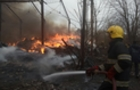 Масштабна пожежа у Виноградові: Гасити вогонь на складах прибув спеціальний потяг (ФОТО)