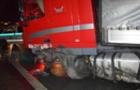 На перевалі біля Кошице закарпатська вантажівка потрапила в аварію (ФОТО)