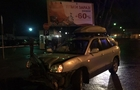 В Ужгороді п'яний підліток на Хюндай врізався в огорожу