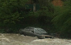 На Рахівщині автомобіль впав у гірську річку
