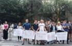 Як на Закарпатті протестували проти свавілля поліції