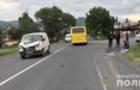На Ужгородщині мікроавтобус збив жінку. Водій сам зателефонував до поліції
