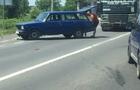 Потрійна автоаварія біля Мукачева