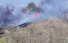 Пожежа на залізничних коліях у Мукачеві: Горіли шпали (ФОТО)
