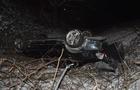 На Тячівщині автомобіль BMW перекинувся на дах