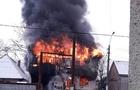 Масштабна пожежа на Тячівщині: Горить магазин будівельних матеріалів (ВІДЕО)